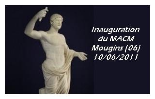 Mougins (06) – Inauguration du MACM