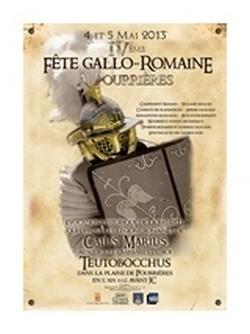FETES GALLO-ROMAINES DE POURRIERES  4–5 Mai 2013