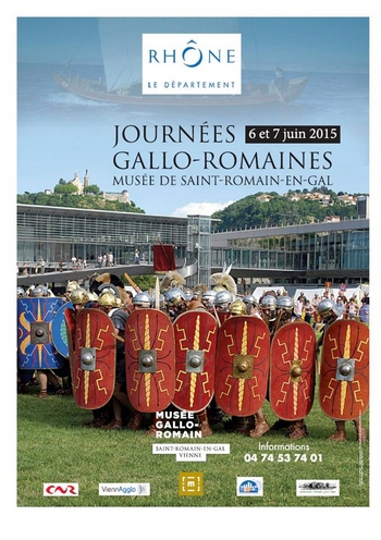 Fêtes Romaines Saint-Romain en Gal  2015