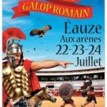 Eauzes (32) Festival Galop Romain  2016