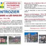 Journées du Patrimoine – Montrozier(12) 16 et 17 Septembre 2017