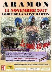 Aramon Foire de la Saint Martin 11 Novembre 2017