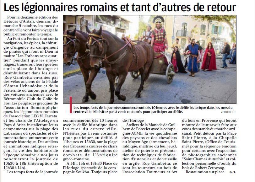 Saint Chamas Détours d'antan legio VI