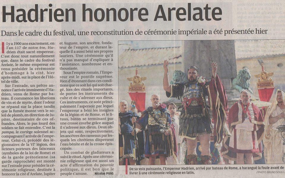 La Provence Arelate Empereur Hadrien Legio VI