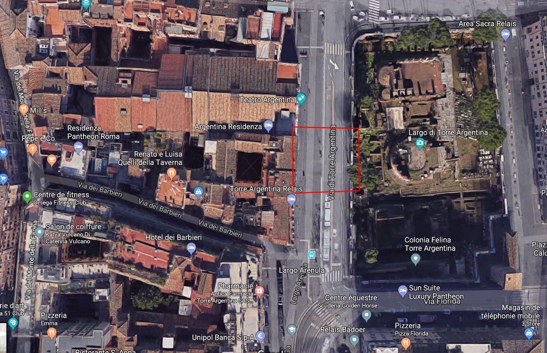 où a été assassiné Jules César? Rome Largo di Torre Argentina