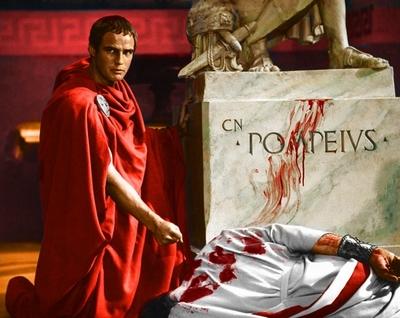 Où César a t-il été assassiné ?