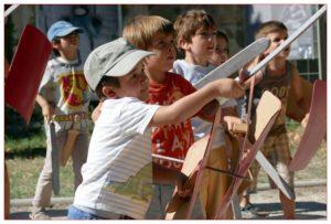 Ateliers petits légionaire romain Legio VI