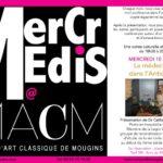 Conférence sur la médecine romaine – Mougins -10 avril 2019