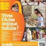 Arelate -17 au 25 Août 2019